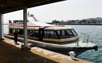夕日や夜景を楽しむクルージングで運行される観光船