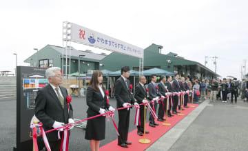 쓰나미 재해지에 상업시설 오픈