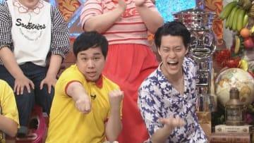 25日放送の「ダウンタウンDX」に出演する「霜降り明星」のせいやさん(左)と粗品さん