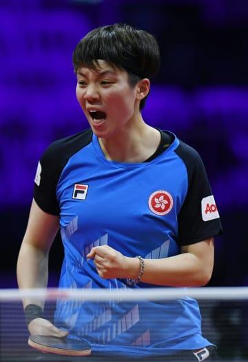 石川佳純、杜凱琹に敗れる 卓球世界選手権