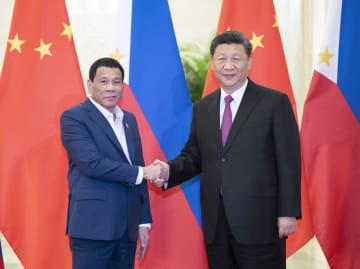 習近平主席、フィリピン大統領と会見 海上協力の強化を強調
