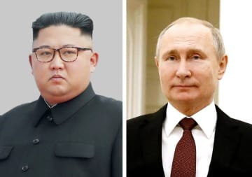 N. Korea leader Kim holds 1st talks with Putin