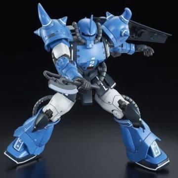 「機動戦士ガンダム THE ORIGIN MSD(Mobile Suit Discovery)」から生まれたプロトタイプグフのブルーカラーバージョンのプラモデル「HG 1/144 YMS-07A-0 プロトタイプグフ(機動実証機 ブルーカラーVer.)」(C)創通・サンライズ