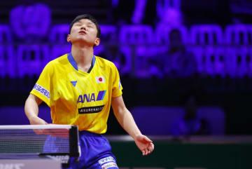 【卓球】張本、韓国の若手に惜敗 ベスト16で大会終える<世界卓球2019>