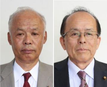 藤沢正則氏(左)と石田実氏