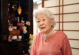 「娘を戻してほしい、という思いは変わらない」と語る杉山恭枝さんの母池田光代さん。高齢のため追悼慰霊式の出席は見送った=25日午前、川西市内(撮影・風斗雅博)