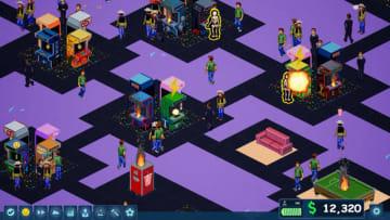 理想のゲーセン経営シム『Arcade Tycoon』3日でKickstarter達成!ストレッチゴールへ移行