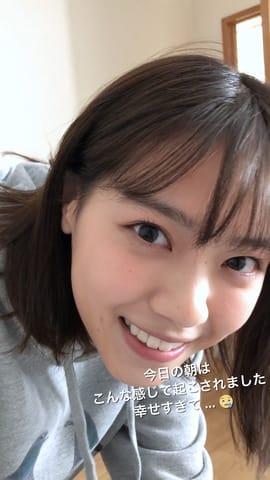 頭皮ケア製品「サクセス24」のキャンペーンインスタグラムアカウントで配信される西野七瀬さんのストーリー動画のビジュアル