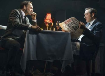 'Ink' Theater Review: Rupert Murdoch Learns The Tabloid Darks Arts Brilliantly On Broadway