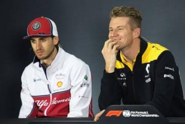 F1アゼルバイジャンGP 木曜会見:子犬の話題に笑みがこぼれるヒュルケンベルグ「まだ飼っているわけじゃないよ」