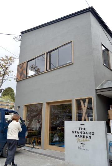 オープンに向け、準備が進められている「ザ・スタンダード・べイカーズ日光店」=24日、日光市
