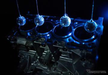 日産GT-Rのエンジンに採用されている「ミラーボアコーティング」を2.5リットルエンジンに拡大