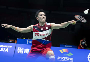 桃田賢斗、準決勝へ バドミントン·アジア選手権