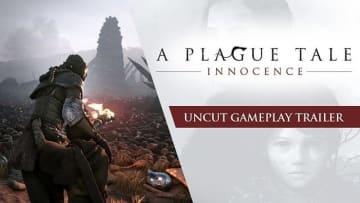 アクションADV『A Plague Tale: Innocence』実際のゲームプレイの様子がわかる8分の無編集トレイラーを公開
