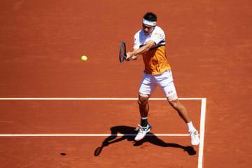 「ATP500 バルセロナ」での錦織