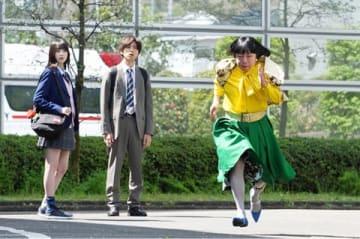 連続ドラマ「俺のスカート、どこ行った?」の場面写真 =日本テレビ提供