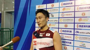 桃田賢斗、準決勝進出 バドミントン·アジア選手権