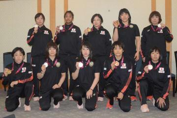 出場全選手がメダル獲得した女子チーム