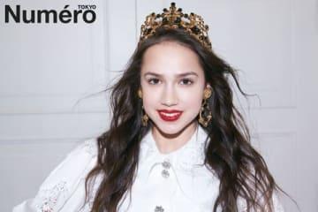 女性ファッション誌「Numero TOKYO」2019年6月号に登場したアリーナ・ザギトワ選手