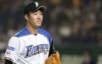 3月18日、東京ドームで開催された2019 MGM MLB開幕戦 プレシーズンゲーム、対オークランド・アスレチックスにて先発、3回まで投げた斎藤佑樹投手(写真:AP/アフロ)