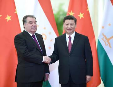 習近平主席、タジキスタン大統領と会見