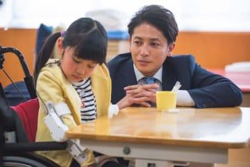「ドラマBiz『スパイラル~町工場の奇跡~」第3話場面写真=テレビ東京提供