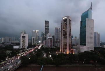 インドネシアの首都ジャカルタ=29日(AP=共同)