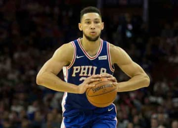 Ben Simmons records first triple-double in Sixers' win vs. Pistons