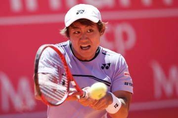 「ATP250 エストリル」での西岡
