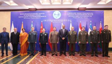 魏鳳和氏、SCO加盟国第16回国防相会議に出席