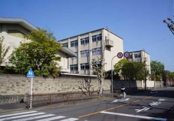 アフリカの遺児を対象とした教育施設の建設候補地となっている向島二の丸小跡地(京都市伏見区)