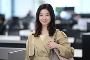 女優の吉高由里子さんの主演ドラマ「わたし、定時で帰ります。」の1シーン(C)TBS