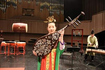 宮廷楽器が奏でる千年の音色、杭州で正倉院復元楽器の音楽会