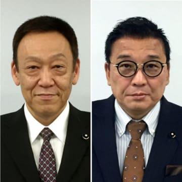 (左から)大山一郎氏、西川昭吾氏