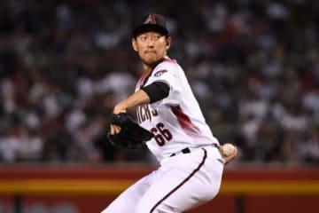 ヤンキース戦に2番手で登板したダイヤモンドバックス・平野佳寿【写真:Getty Images】