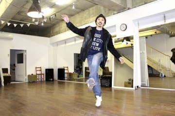 タップダンススタジオをオープンした浦上雄次さん=5月1日、福井県勝山市の越前大仏門前町
