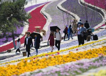 メーデー連休初日、中国各観光地が大にぎわい