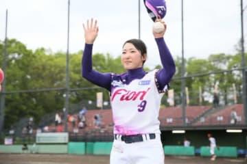 完封勝利を挙げた京都フローラ・植村美奈子【写真提供:日本女子プロ野球リーグ】