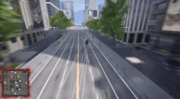 学生開発の無料ヒーローACT『UNDEFEATED』Steam配信予定!オープンワールドを爽快に飛び回れ