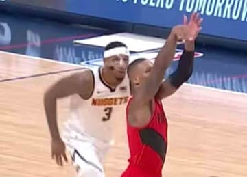 Nuggets' Torrey Craig injures nose in Game 2 loss to Blazers