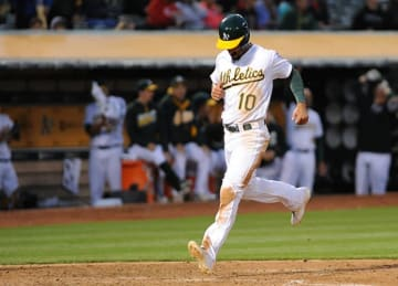 Oakland A's Beat Rangers 14-5 at Home