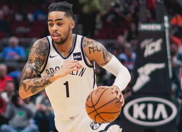 Nets' D'Angelo Russell