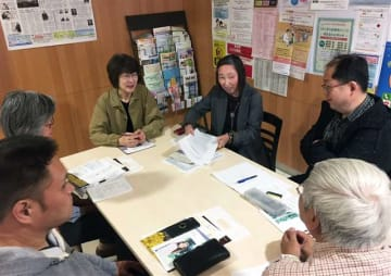 初会合を開いた設立準備委員会のメンバー