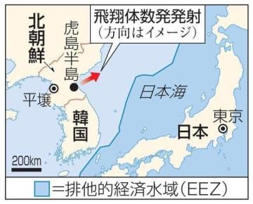 北朝鮮・虎島半島、日本、排他的経済水域(EEZ)