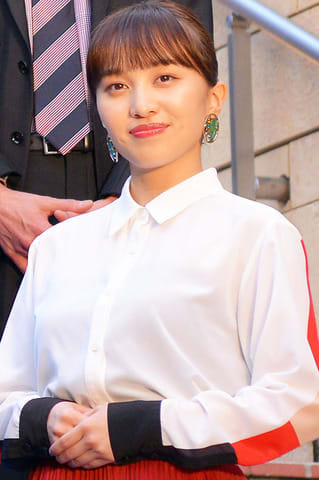 映画「アベンジャーズ/エンドゲーム」のスペシャルスクリーニングに登場した百田夏菜子さん