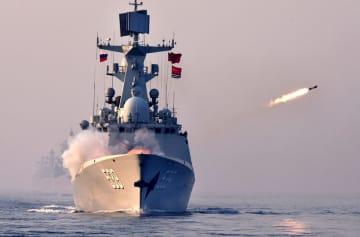 中ロ合同軍事演習「海上連合2019」が無事終了