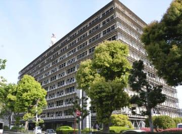 埼玉県警本部が入る県庁第2庁舎=4月、さいたま市