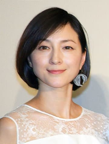 映画「太陽の家」のキャスト発表会見に出席した広末涼子さん