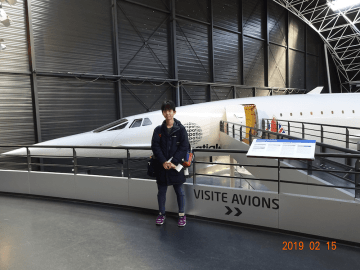 アエロスコピア航空博物館にて(フランス・トゥールーズ)