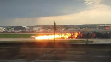 ロシア旅客機が緊急着陸後炎上、41人死亡